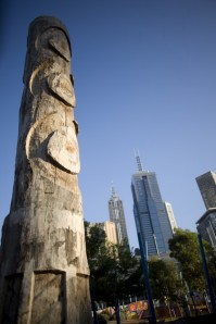 An aboriginal site in Melbourne