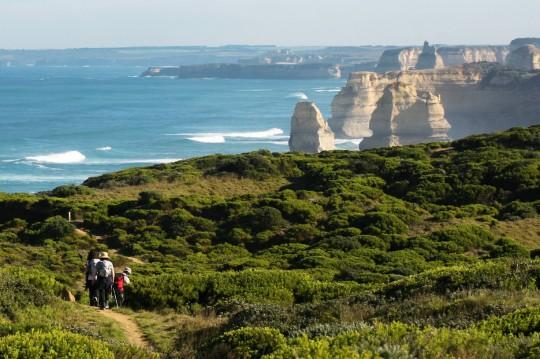 Twelve Apostles on the Great Ocean Walk in Victoria, Australia