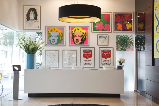 Art series hotel Melbourne Andy Warhol