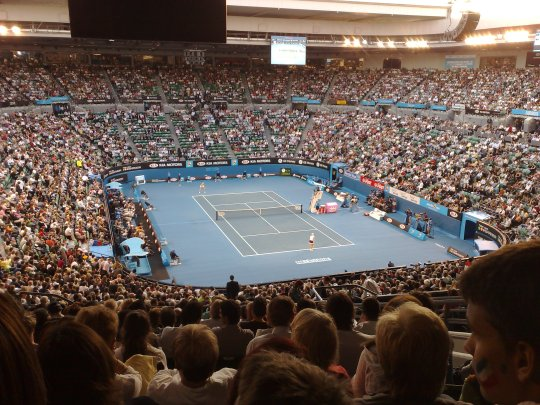 Australian Open in Melbourne