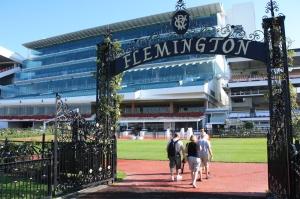 Melbourne Cup: Gates at Flemington