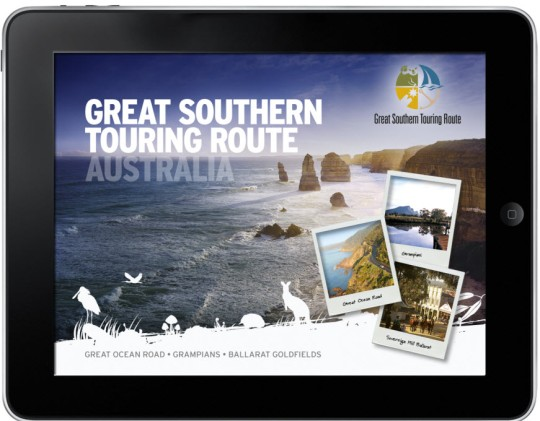 Great Southern touring route iPad app