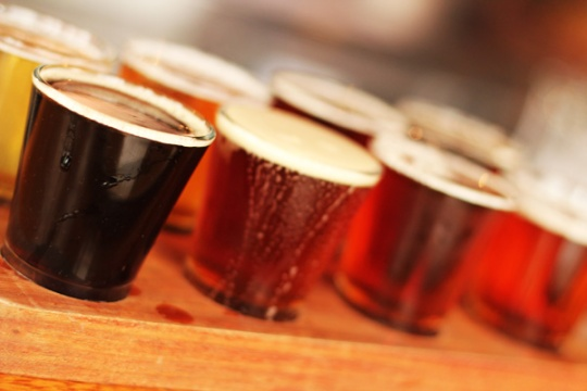 Beer paddle, Yarra Valley