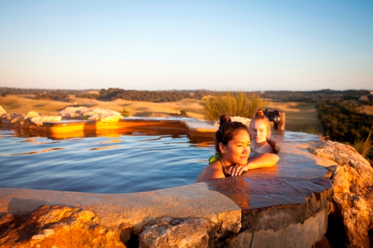 Peninsula Hot Springs in Victoria